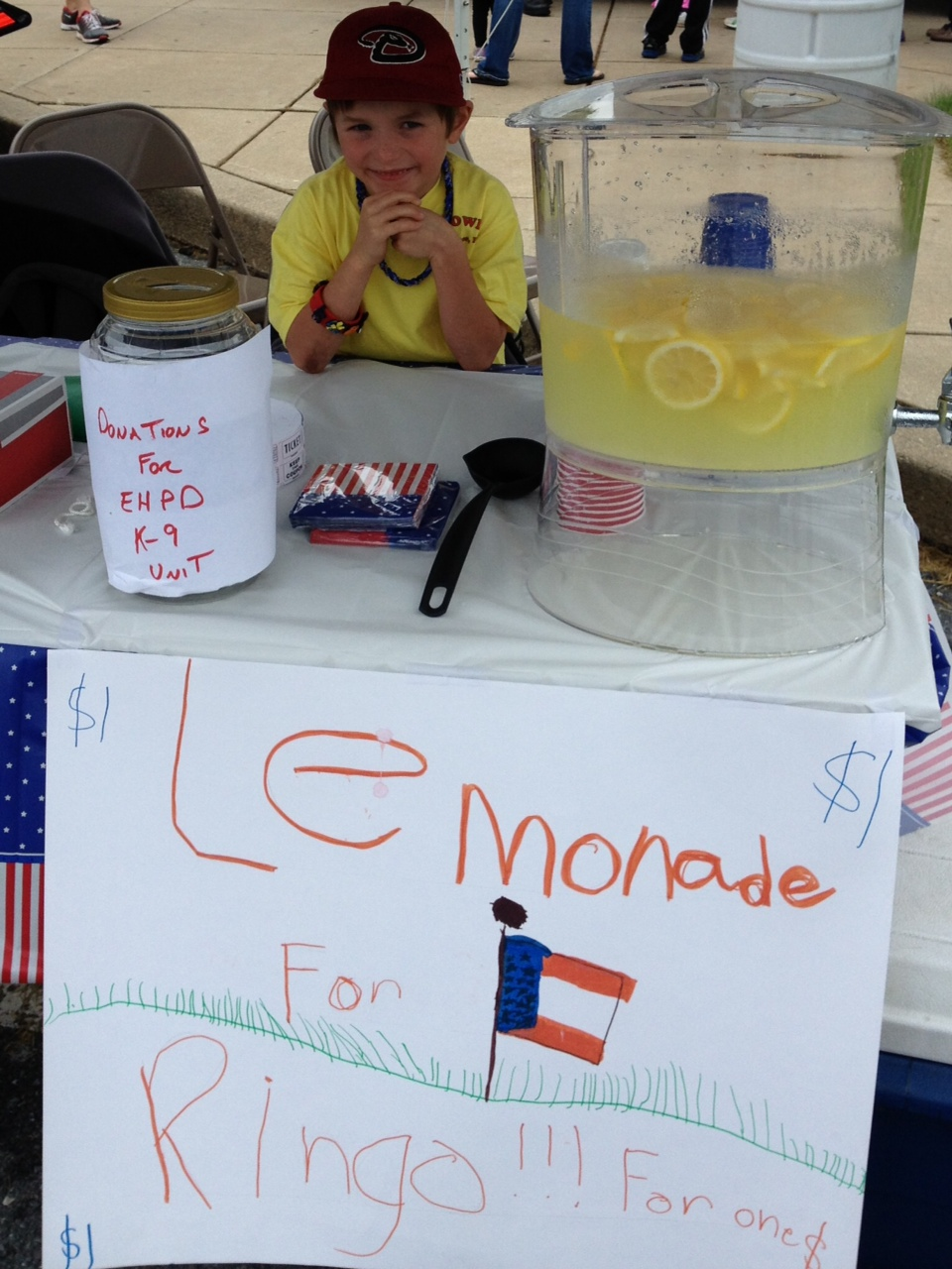 Nick Lemonade stand
