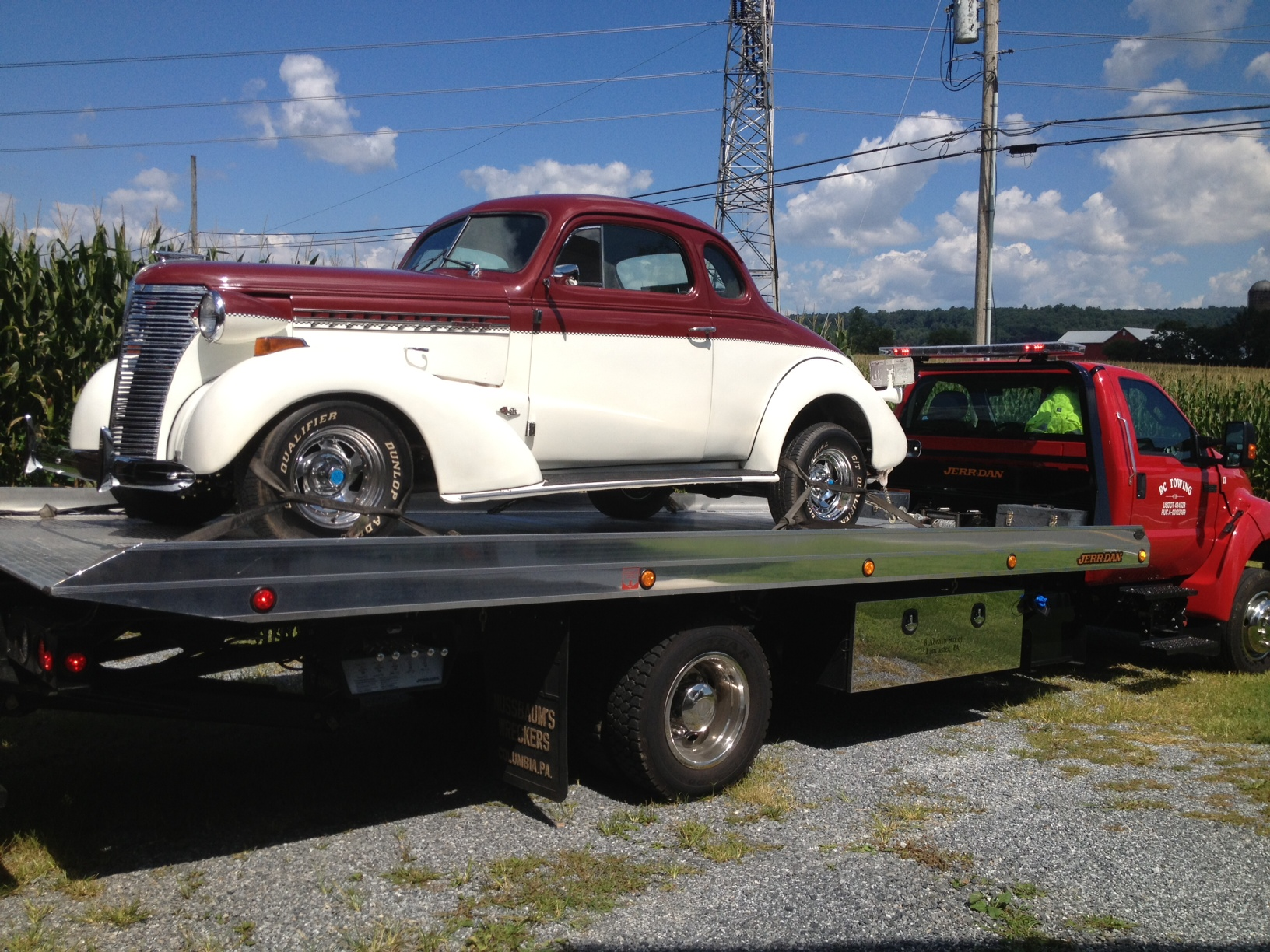 classic car towing in Lancaster, PA