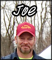 Joe The Driver of over 17 Years