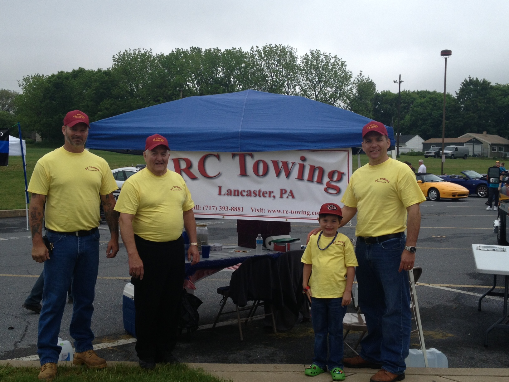 rc towing banner