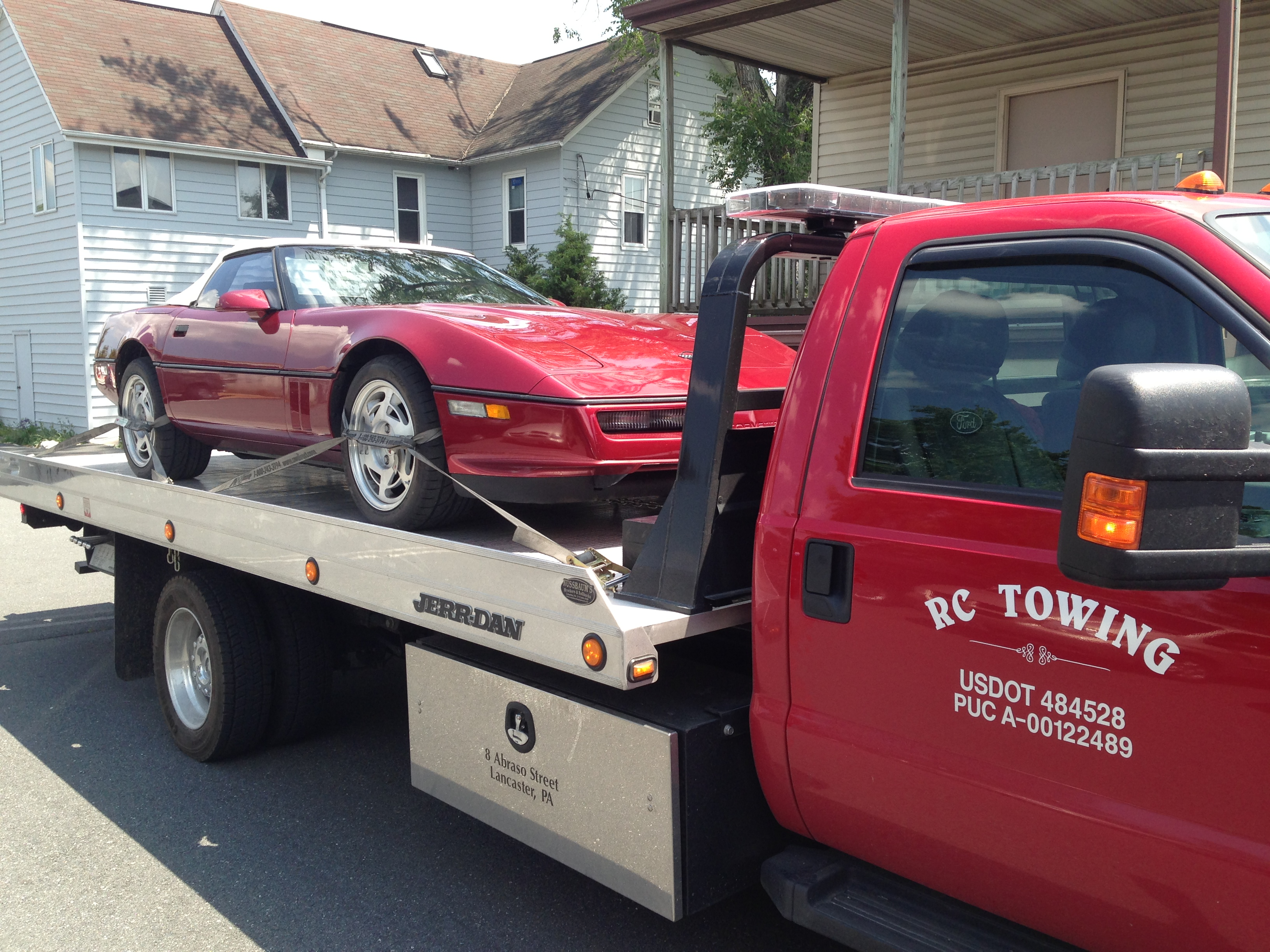 towing convertible to new holland pike